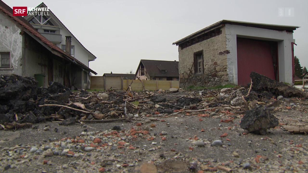 Abgerissenes 450-jähriges Bauernhaus muss rekonstruiert werden