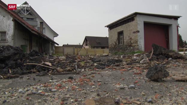 Video «Abgerissenes 450-jähriges Bauernhaus muss rekonstruiert werden» abspielen