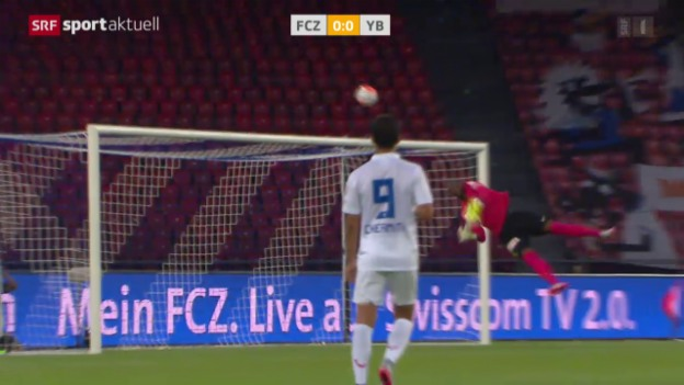 Video «Fussball: 1. Super-League-Runde, FCZ - YB» abspielen