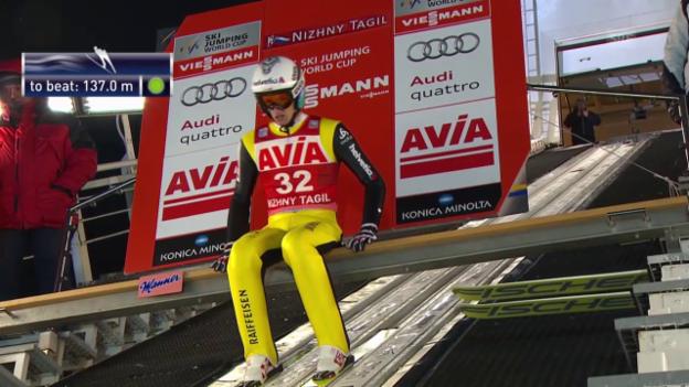 Video «Skispringen: Weltcup in Nischni Tagil» abspielen