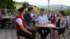Video «Gespräch mit Gastgeber Andreas & Anita Lusti und Käser Walter Räss» abspielen