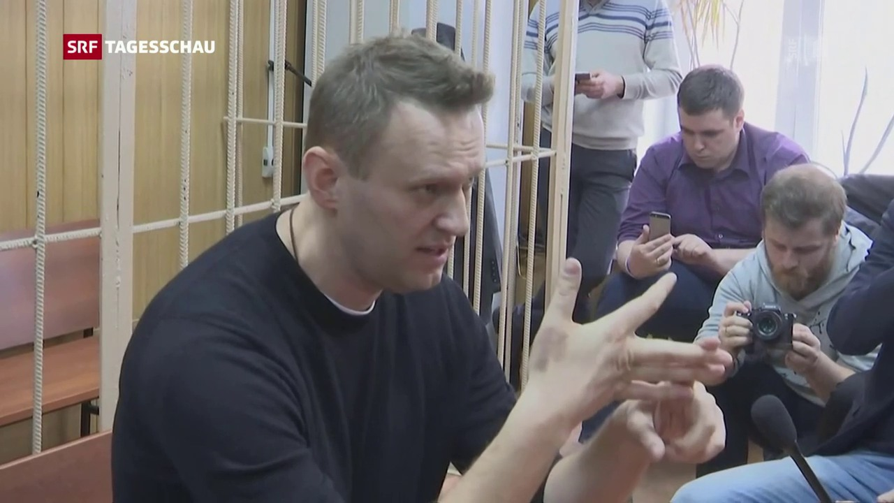 Russischer Oppositionsführer Nawalny verhaftet