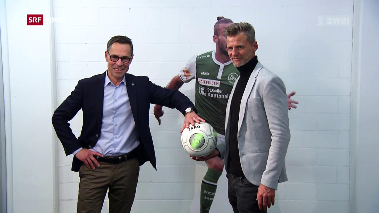 Weiterer Paukenschlag bei St. Gallen: Alain Sutter wird Sportchef