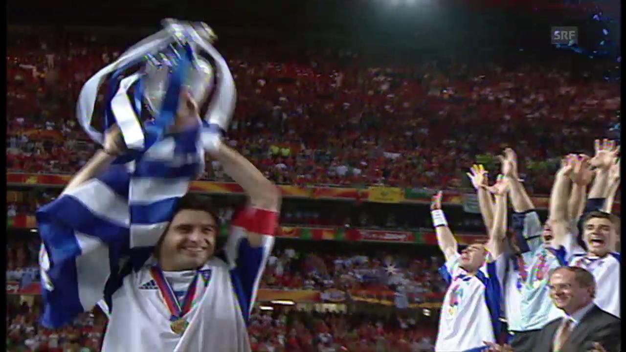 Rückblick EM 2004: Die Griechen mit der Sensation