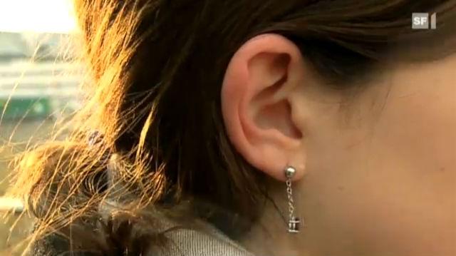 Geschmückte Ohren kühlen schneller aus