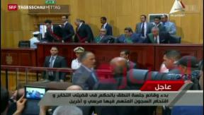 Video «Todesstrafe für Ägyptens Ex-Präsident Mursi» abspielen