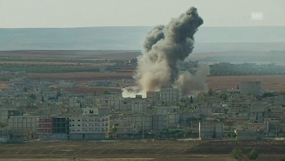 Beschuss von Kobane (unkommentiert)
