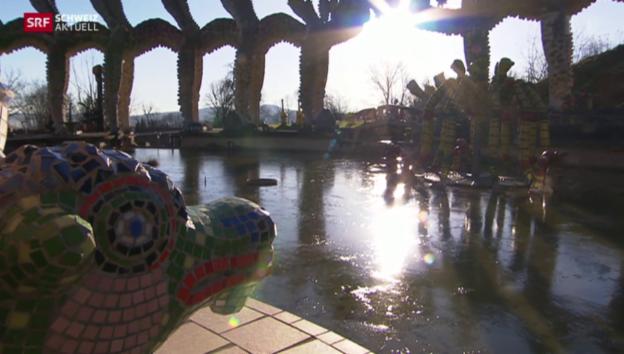 Video «Bruno-Weber-Park gerettet» abspielen