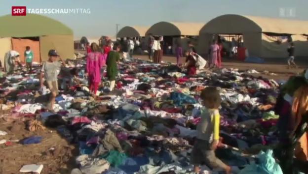 Video «Dramatische Flüchtlingslage im Nordirak» abspielen