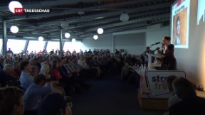 Video «Frauke Petry besucht AUNS-Mitglieder » abspielen