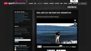 Video «Ski: Studiogast Dominique Gisin und Social Media» abspielen