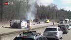 Video «Explosionsgefahr nach Unfall» abspielen