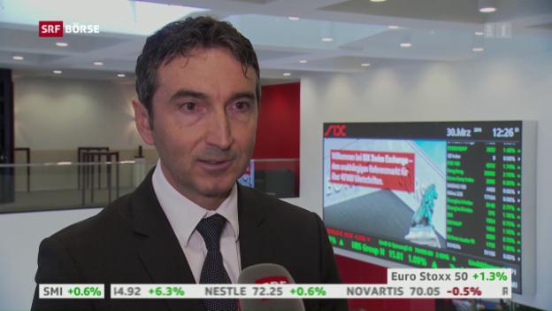 Video «SRF Börse vom 30.03.2016» abspielen