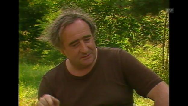 Video «Fredi M. Murer über seine Filme (Kamera Läuft, 18.8.1985)» abspielen