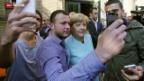 Video «FOKUS: Merkel im Gegenwind» abspielen