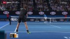Video «Tennis, Australian Open: Der Männer-Final Djokovic - Murray» abspielen
