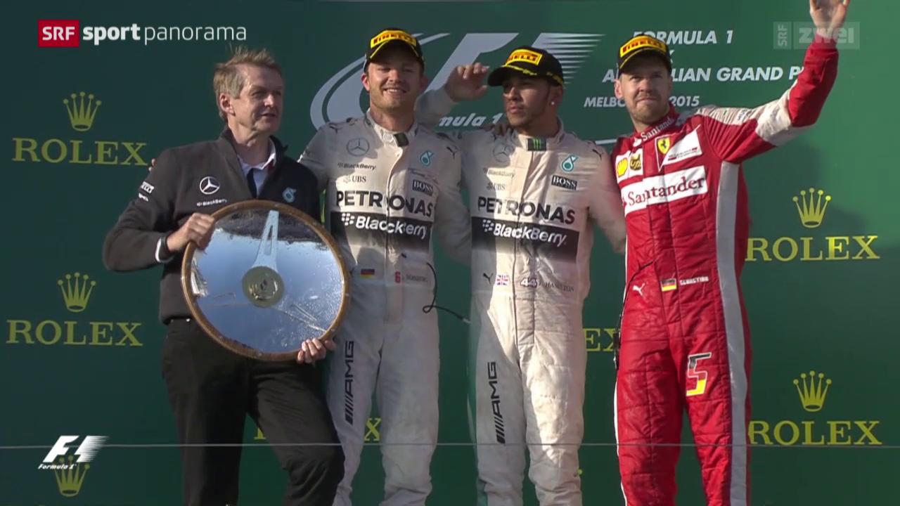 Formel 1: GP Australien in Melbourne