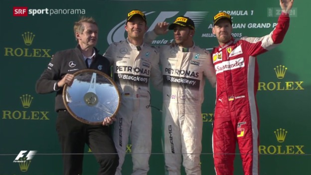 Video «Formel 1: GP Australien in Melbourne» abspielen