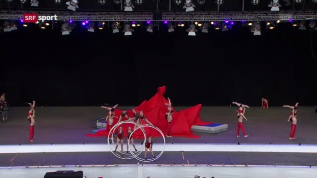 Video «ETF: Eröffnungsfest in Biel» abspielen