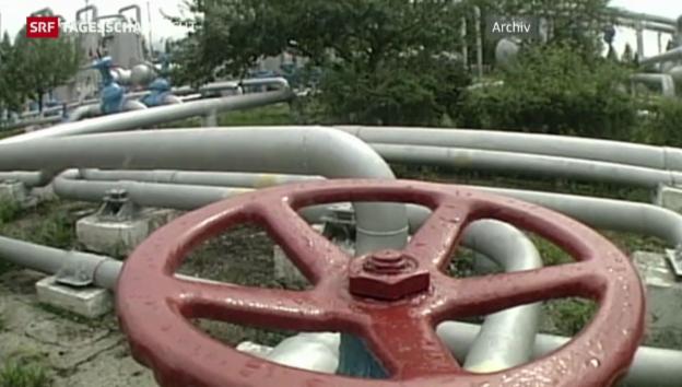 Video «Gasversorgung der Ukraine bis März gesichert» abspielen