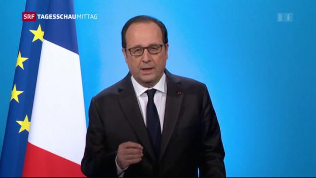 Video «Hollande zieht sich zurück» abspielen