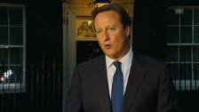 Video «David Cameron über das Baby» abspielen