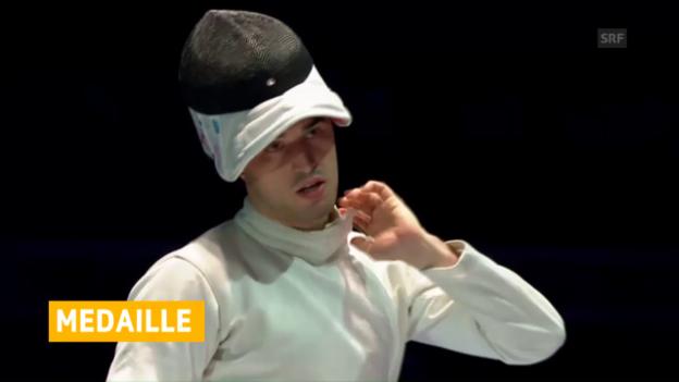 Video «Max Heinzer holt EM-Silber» abspielen