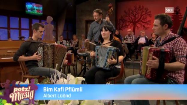 Video «Bim Kafi Pflümli - Albert Lüönd» abspielen