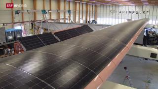 Video «Grosse Pläne für «Solar Impulse 2»» abspielen