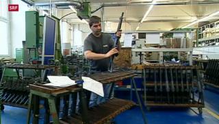 Video «Weniger Hürden für Schweizer Waffen-Exporte» abspielen