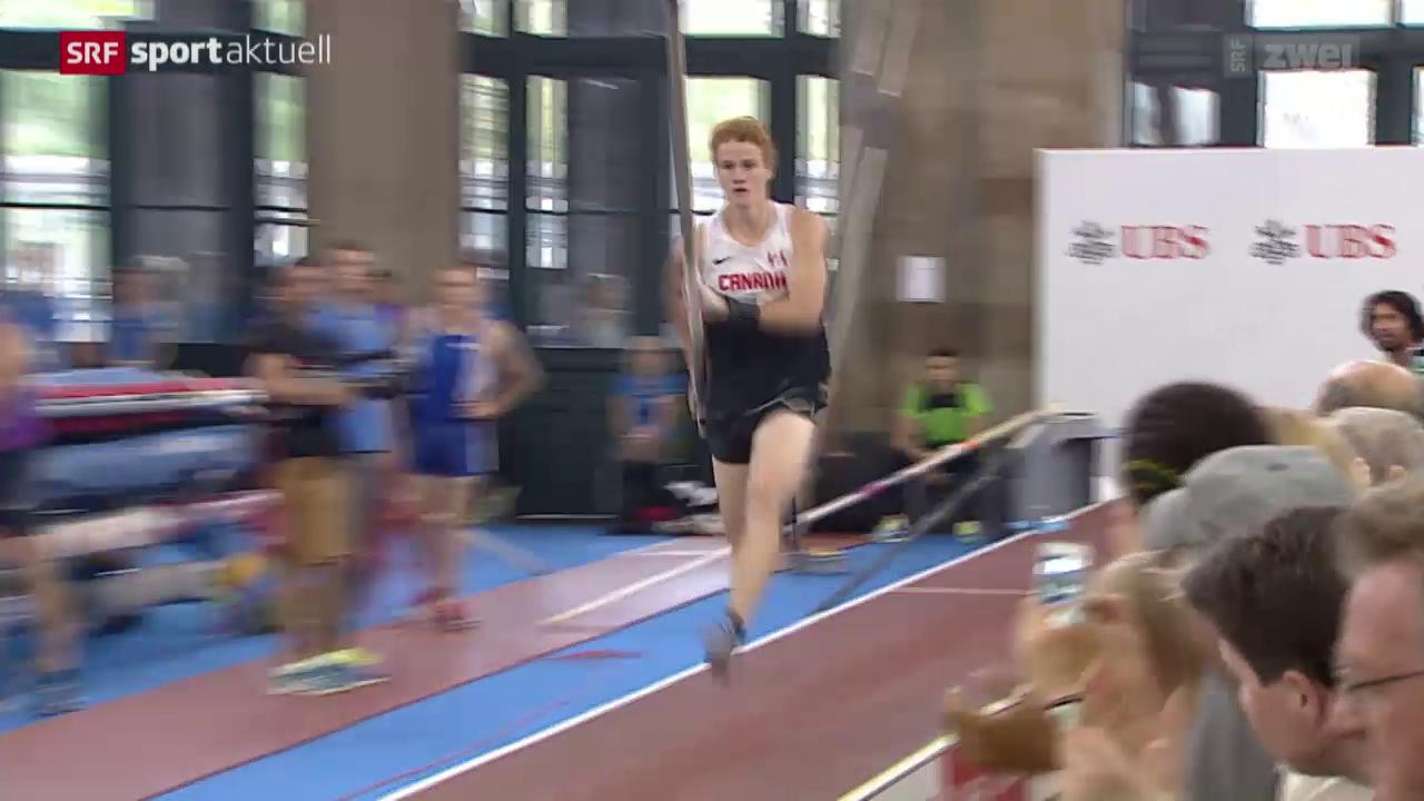 Leichtathletik: Weltklasse Zürich, Stabhochsprung im Zürcher HB