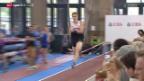 Video «Leichtathletik: Weltklasse Zürich, Stabhochsprung im Zürcher HB» abspielen