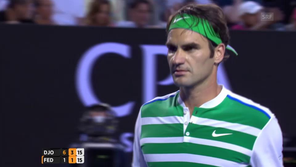 Federer unterliegt Djokovic trotz Aufholjagd
