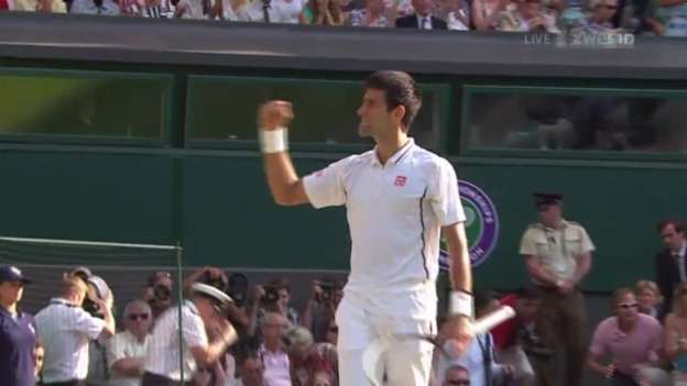 Video «Djokovic - Del Potro: Entscheidende Bälle («sportlive»)» abspielen