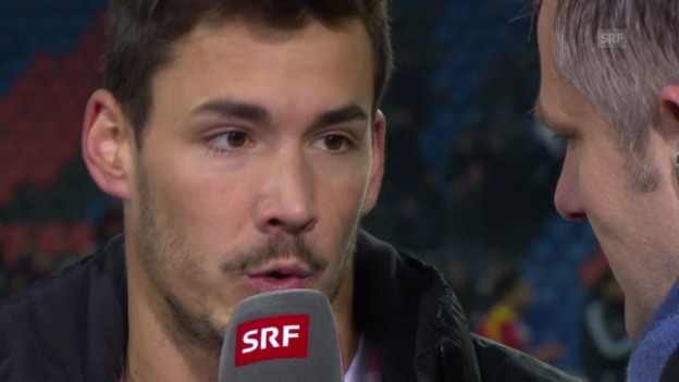 Video «Fussball: Interview mit GC-Goalie Roman Bürki» abspielen
