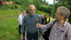 Video «Wandern mit dem Bundesrat» abspielen