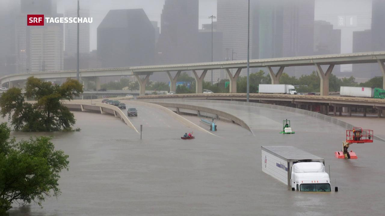 Hurrikan «Harvey» ist ein aussergewöhnlicher Sturm