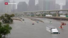 Video «Hurrikan «Harvey» ist ein aussergewöhnlicher Sturm» abspielen