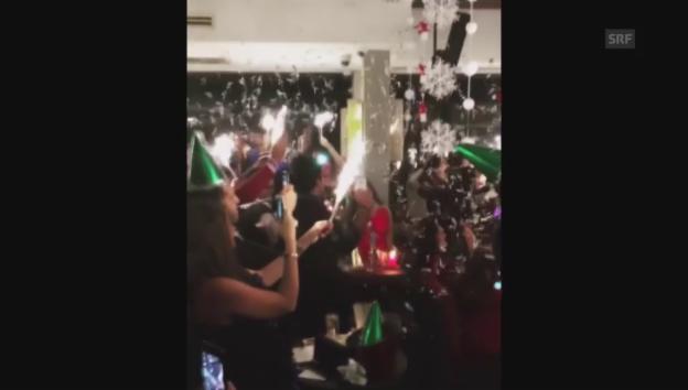 Video «Silvesterfeier im Reina» abspielen