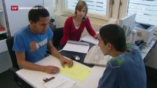 Video «Arbeitslosenzahl steigt leicht» abspielen