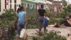 Video «Schwere Schäden wegen Hurrikan» abspielen