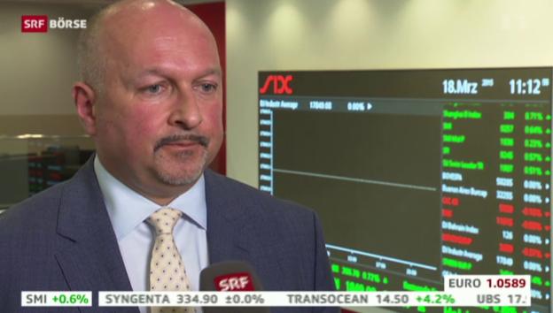 Video «SRF Börse vom 18.03.2015» abspielen