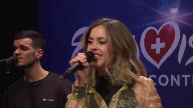 Video «Shana Pearson mit «Exodus»» abspielen