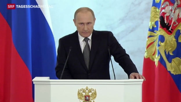 Video «Putins Rede zur Nation» abspielen