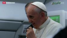 Video «Papst äussert sich zur Homosexualität.» abspielen