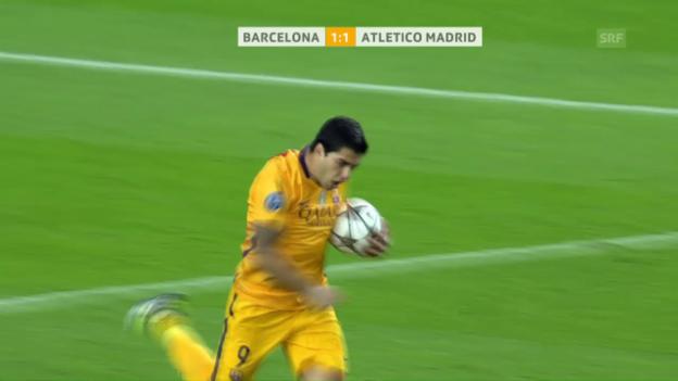 Video «Barcelona dreht Rückstand gegen Atletico» abspielen