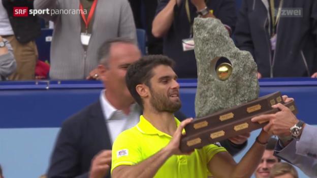 Video «Tennis: Suisse Open Gstaad, Final» abspielen