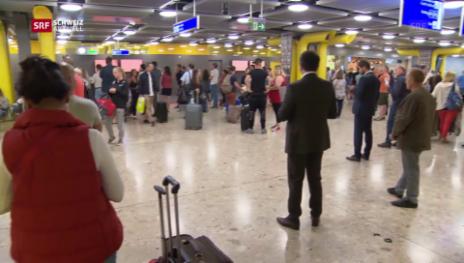 Video «Schock in Genf und bei den Reisenden» abspielen