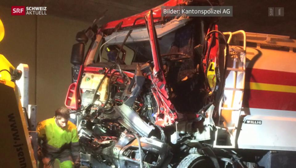 Schwerer Unfall mit Lastwagen fordert Todesopfer