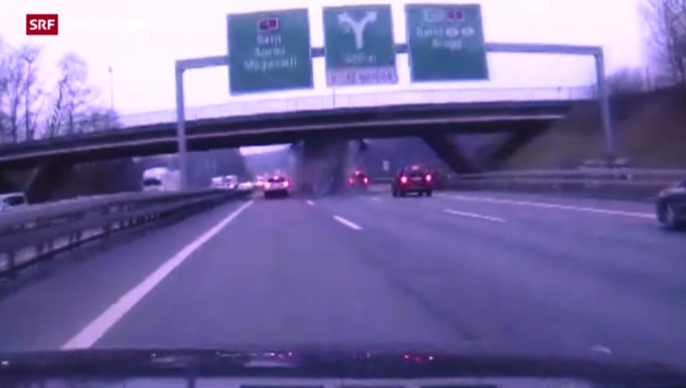 Unfall auf der A1 verursacht Mega-Stau im gesamten Ostaargau